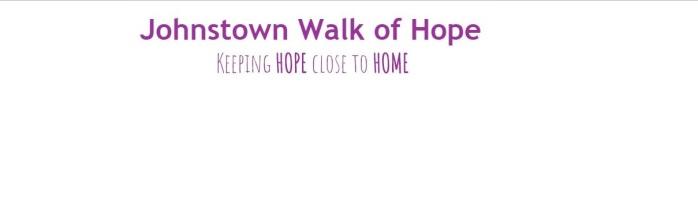 Walk of Hope web header